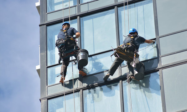 {Post-Construction Window Cleaning}